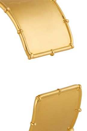 ARME DE L'AMOUR Bamboo gold-plated arm cuff