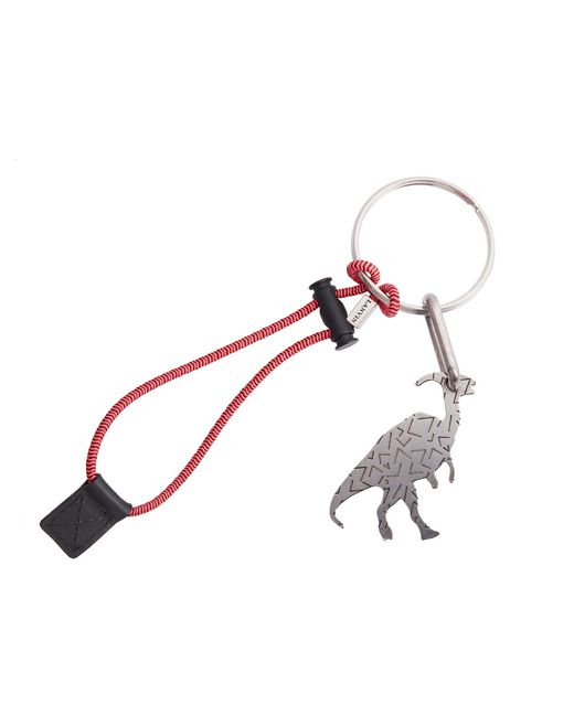 lanvin dinosaur key ring men