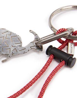 LANVIN DINOSAUR KEY RING Key holder U d