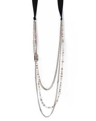 LANVIN PEARLS NECKLACE Necklace D f