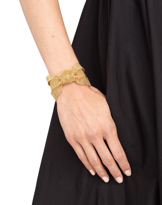 lanvin ribbon chain bracelet women