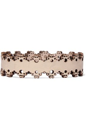 ZIMMERMANN Laser-cut leather bracelet