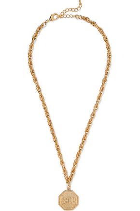 MOSCHINO Gold-tone necklace