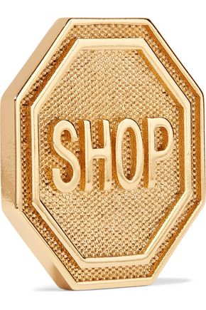 MOSCHINO Gold-tone earrings