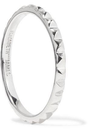ELIZABETH AND JAMES Delgado silver-tone ring
