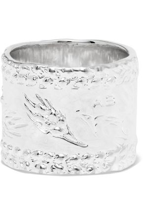 AURÉLIE BIDERMANN Silver-plated ring