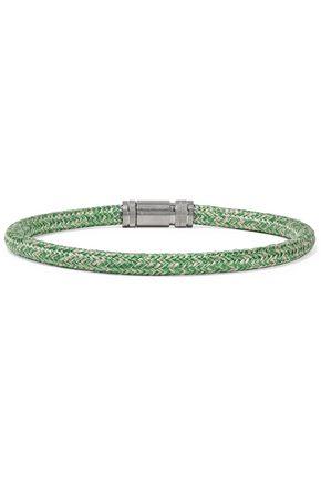 ACNE STUDIOS Jack braided cord silver-tone choker