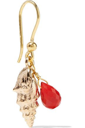 ROSANTICA Gold-tone beaded earrings