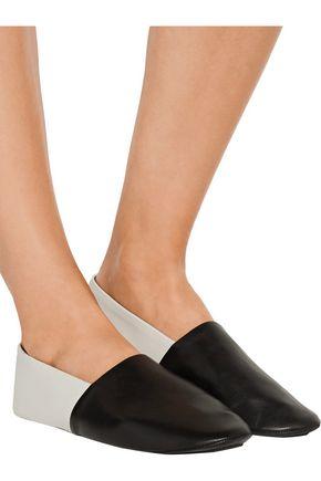 NEWBARK Jacks two-tone leather loafers