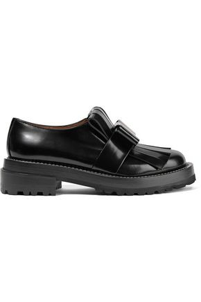 MARNI Embellished leather brogues