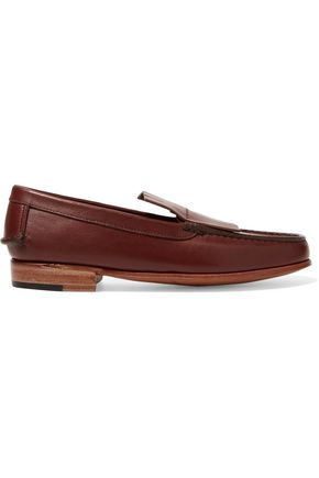 MARTINIANO Duccio fringed leather loafers