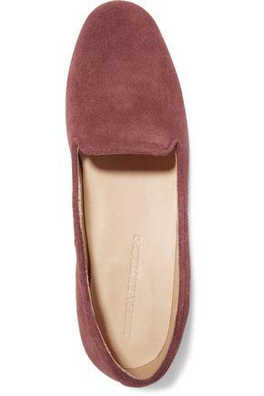 DIEPPA RESTREPO Dandy suede loafers