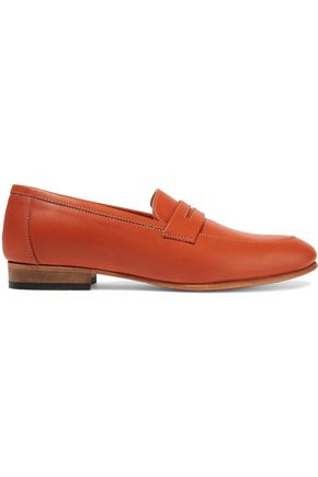 DIEPPA RESTREPO Penny leather loafers