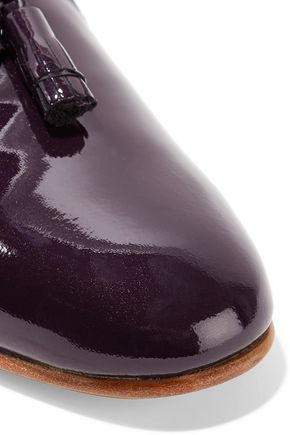 DIEPPA RESTREPO Gaston patent-leather loafers