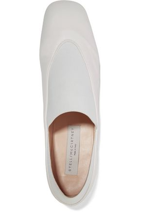 STELLA McCARTNEY Faux leather loafers