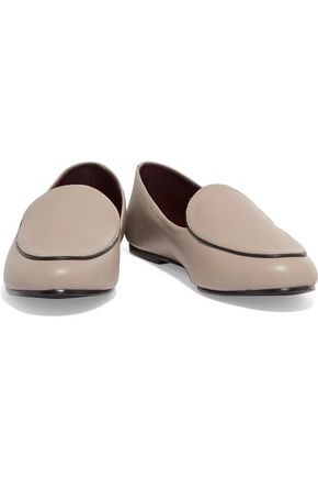 NEWBARK Liza two-tone leather loafers