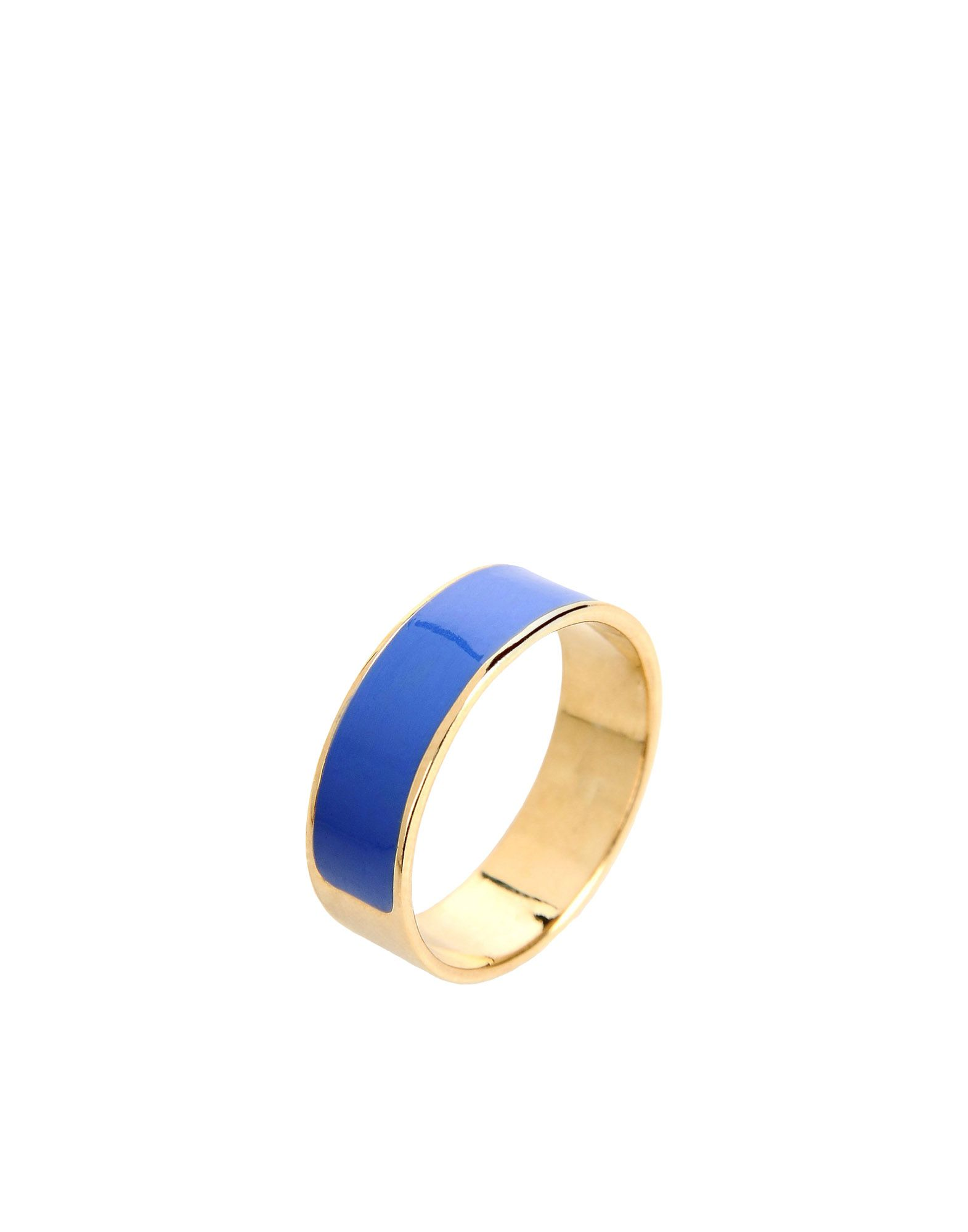 INEZ AND VINOODH Ring in Blue