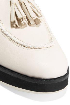 RAG & BONE Mckenzie textured-leather loafers