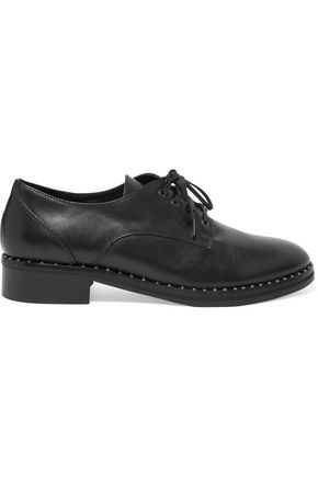 IRIS & INK Nat leather brogues