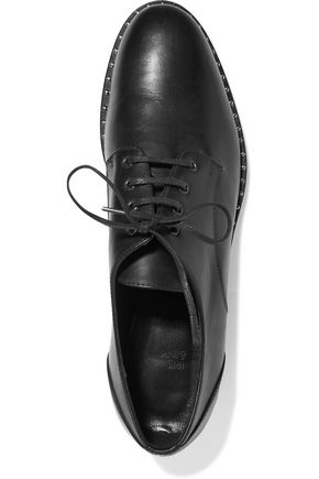 IRIS AND INK Nat leather brogues