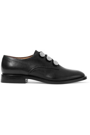 ALEXANDER WANG Matilda embellished leather brogues