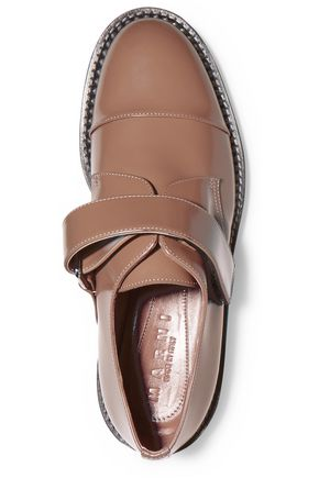 MARNI Patent-leather loafers