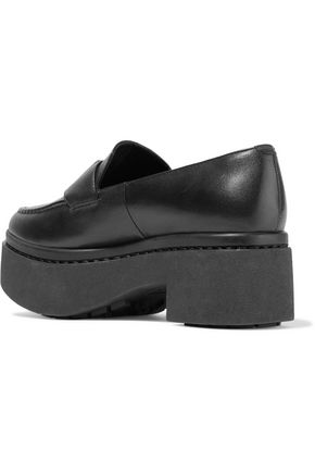 OPENING CEREMONY Agnes platform leather loafers