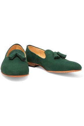 DIEPPA RESTREPO Gaston nubuck loafers