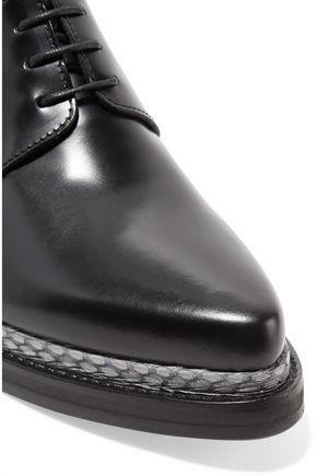 ACNE STUDIOS Lark leather brogues