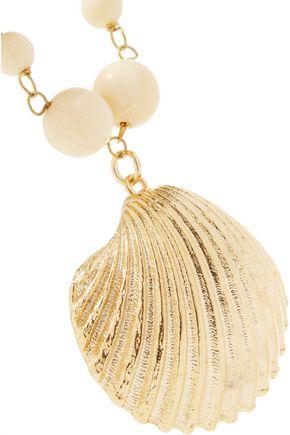 ROSANTICA Gold-tone bead necklace