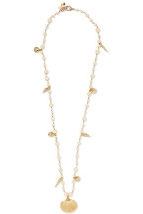 ROSANTICA Gold-tone bead necklace