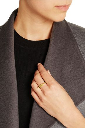 MARIA BLACK Aurore gold-plated ring
