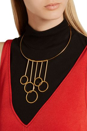 MARNI Gold-plated necklace