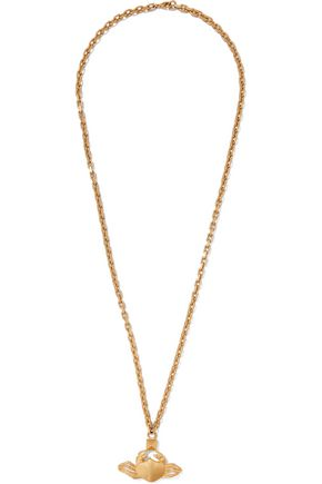 VALENTINO Cancer gold-tone necklace
