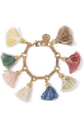 BEN-AMUN Gold-plated tassel bracelet