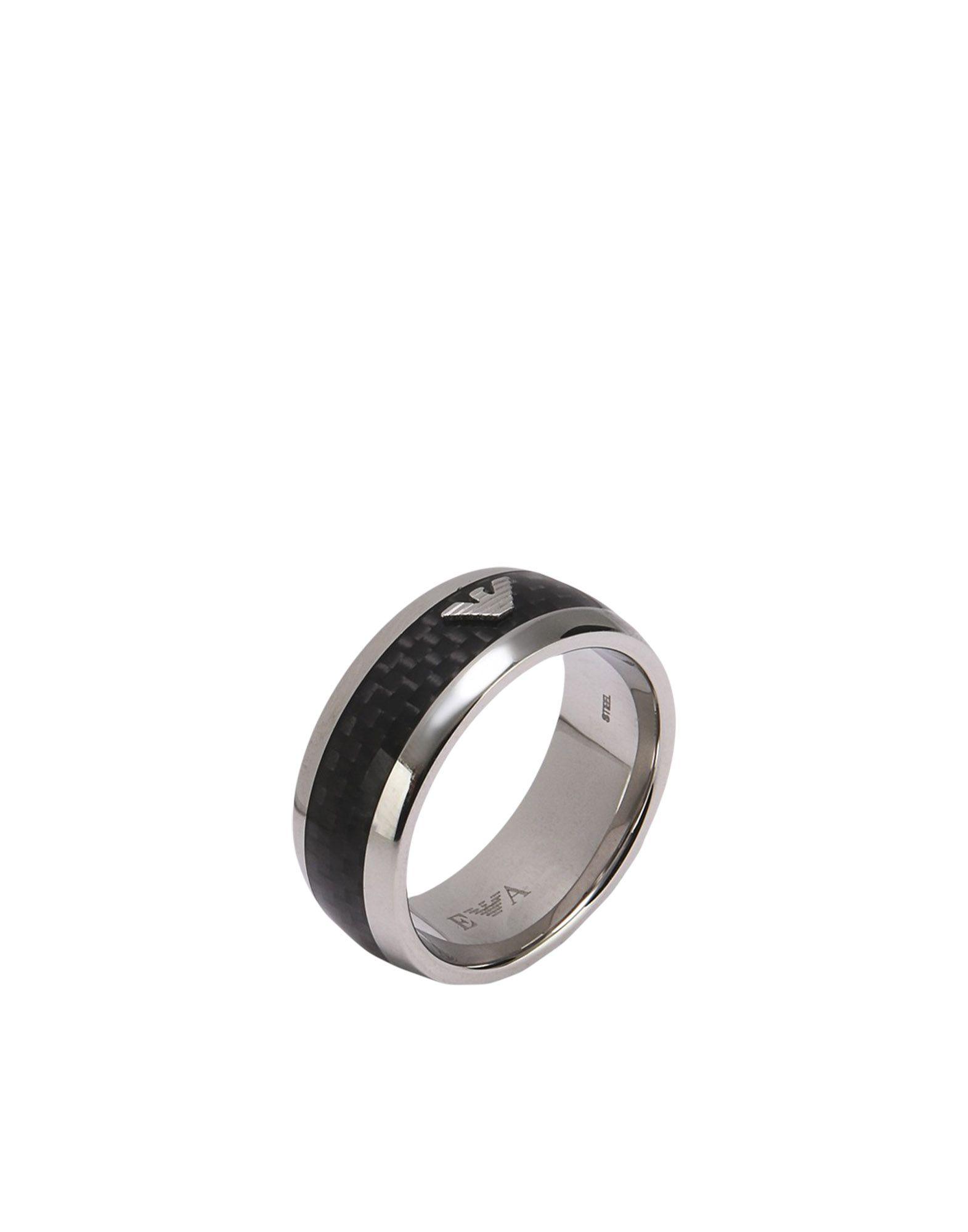 Emporio Armani Rings Black
