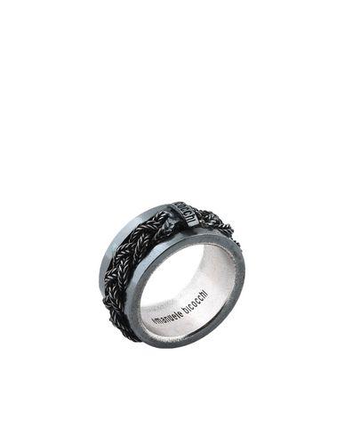 Купить Мужское кольцо EMANUELE BICOCCHI свинцово-серого цвета