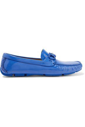 SALVATORE FERRAGAMO Patent-leather loafers