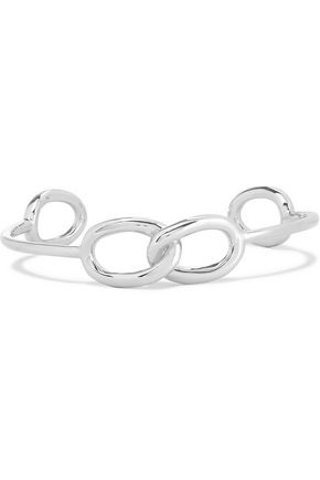 JENNIFER FISHER Double Link Chain silver-plated choker