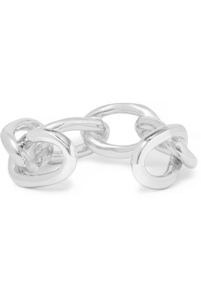 JENNIFER FISHER Chain Link silver-plated cuff