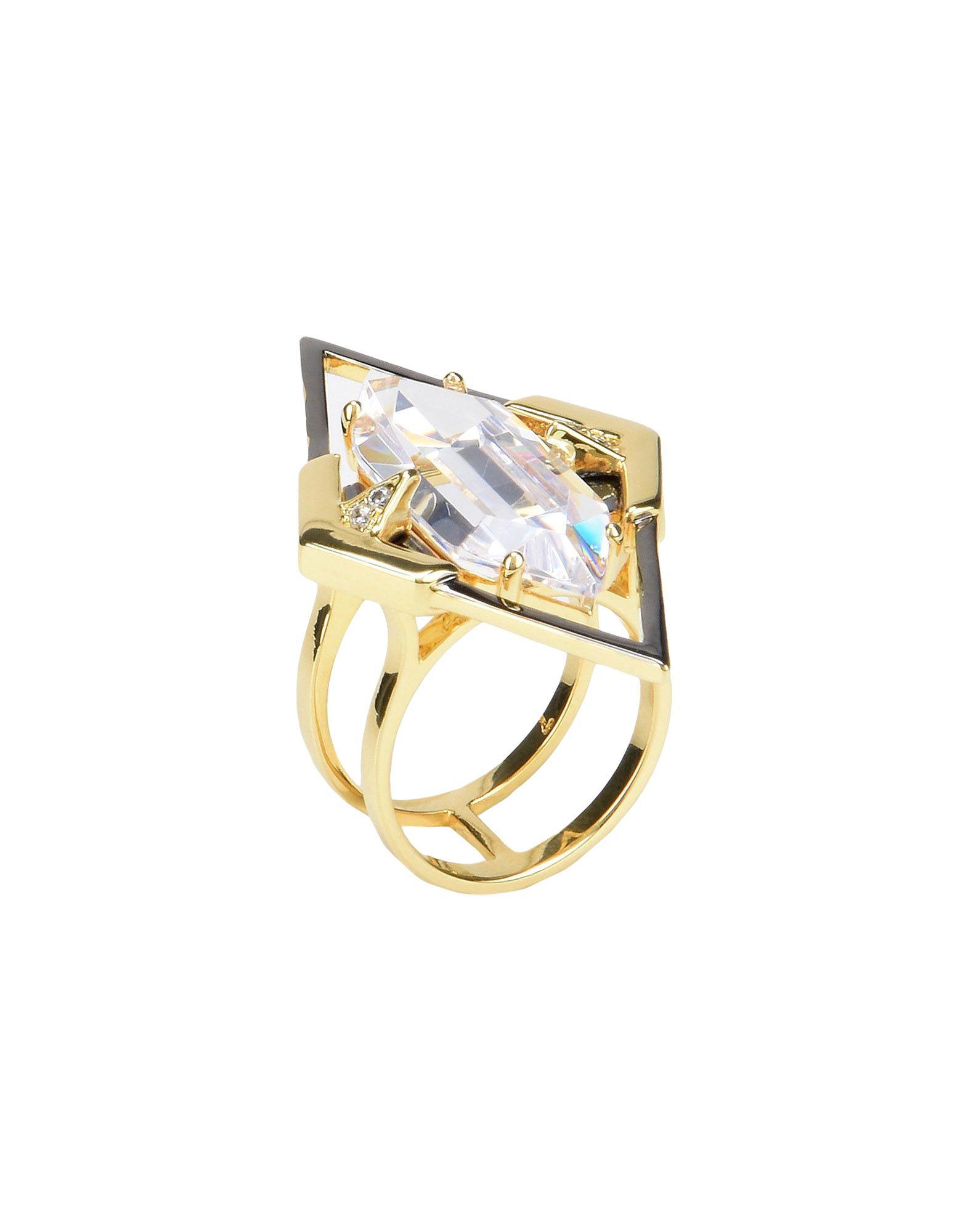 《セール開催中》NOIR JEWELRY レディース 指輪 ゴールド 7 真鍮/ブラス / キュービックジルコニア