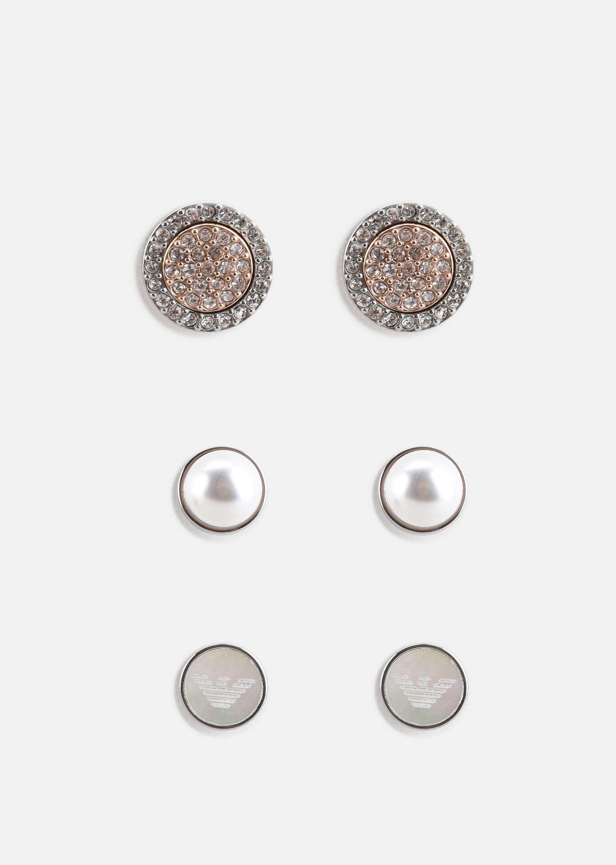 Emporio Armani Earrings Item 50201832 In Silver