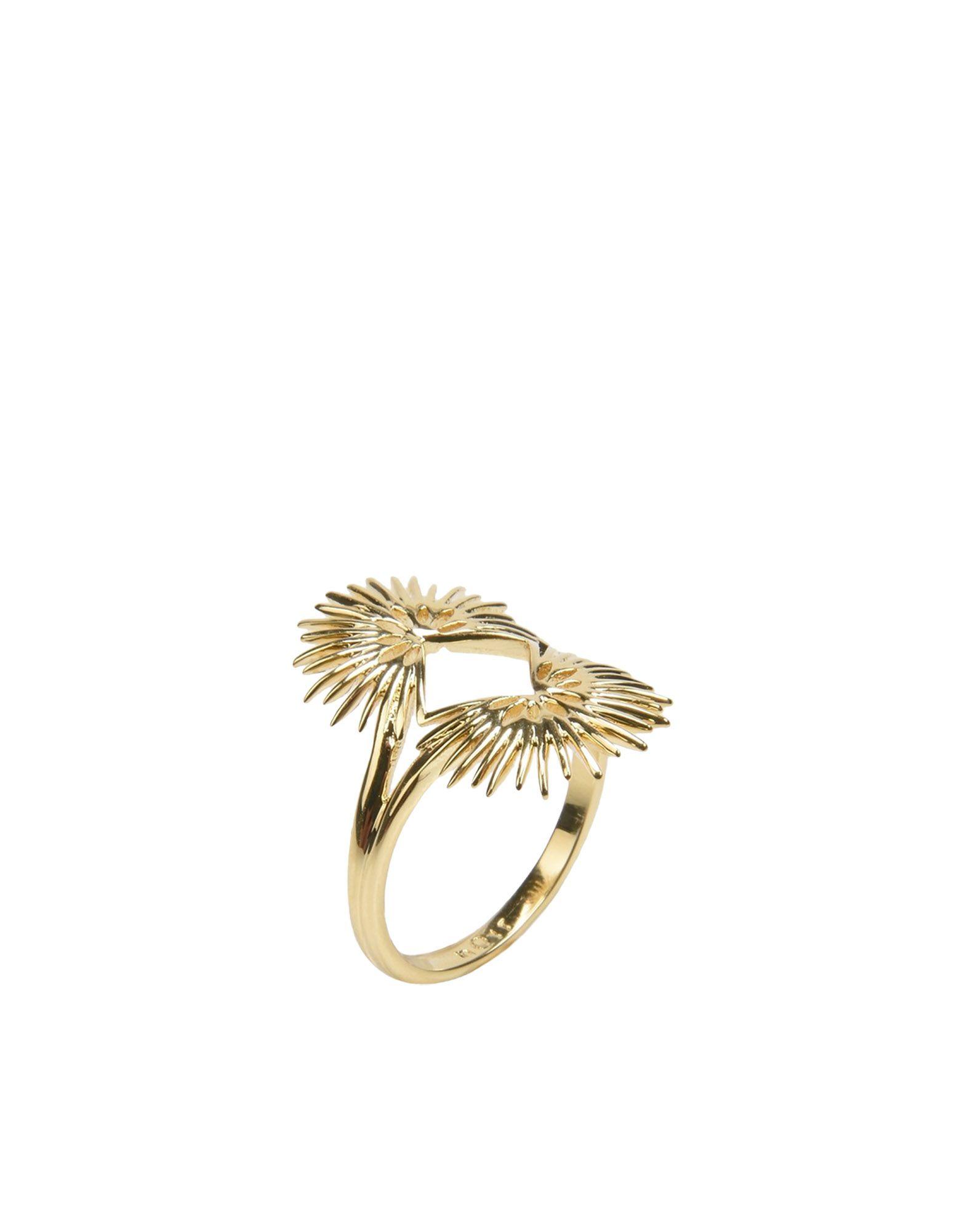 《期間限定 セール開催中》NOIR JEWELRY レディース 指輪 ゴールド 6 真鍮/ブラス PALM LEAVES RING