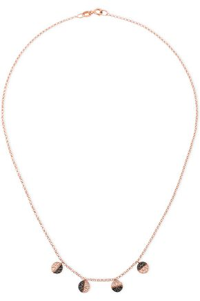AAMAYA by PRIYANKA Rose gold-plated necklace crystal necklace