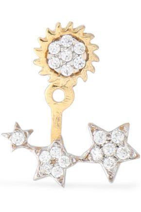 AAMAYA by PRIYANKA Gold-plated crystal earring