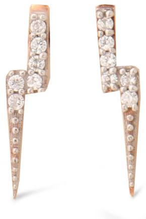 AAMAYA by PRIYANKA Rose gold-tone crystal earring