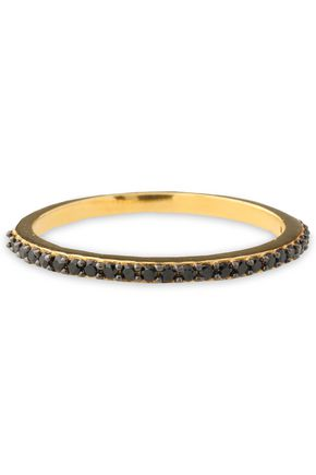 AAMAYA by PRIYANKA Rose gold-plated crystal ring