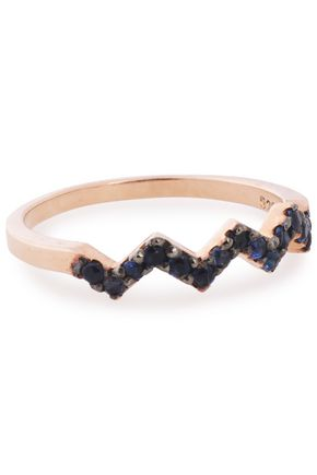 AAMAYA by PRIYANKA Rose gold-tone crystal ring