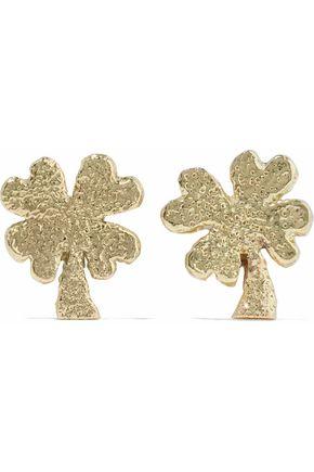 CAROLINA BUCCI 18-karat gold earrings