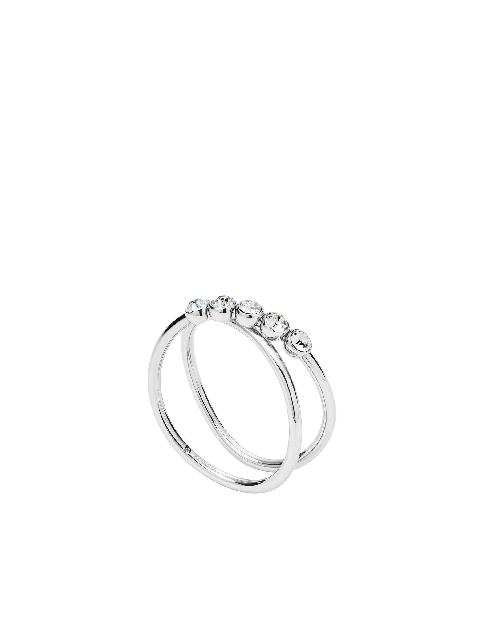 FOSSIL Damen Ring Farbe Silber Größe 17